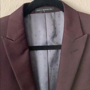 36s Velvet Maroon sport jacket